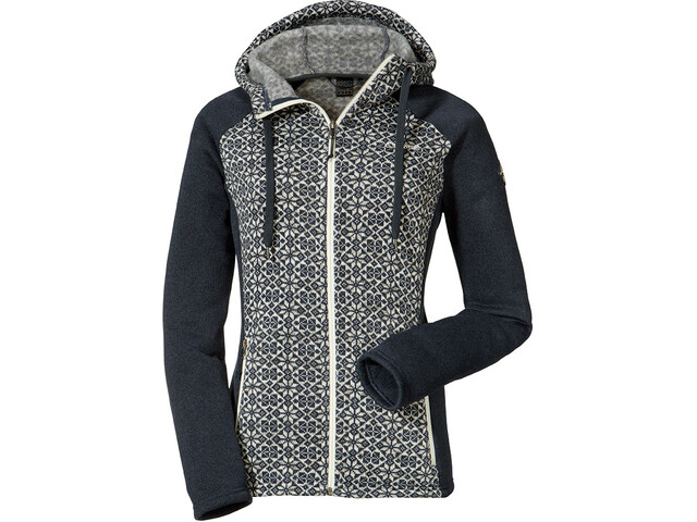 Schöffel Millau2 Hoodie Forro Polar Mujer, navy blazer